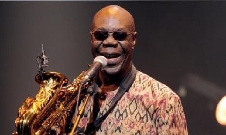 Manu Dibango. photo by Manu Dibango's website