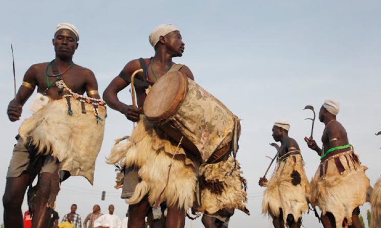 Traditional music in northern Nigeria is influenced by Islam. Photo: Kunle Ogunfuyi