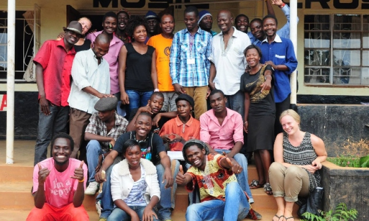 Participants of a workshop at the Music Crossroads Academy in Malawi. Photo: Music Crossroads/Facebook