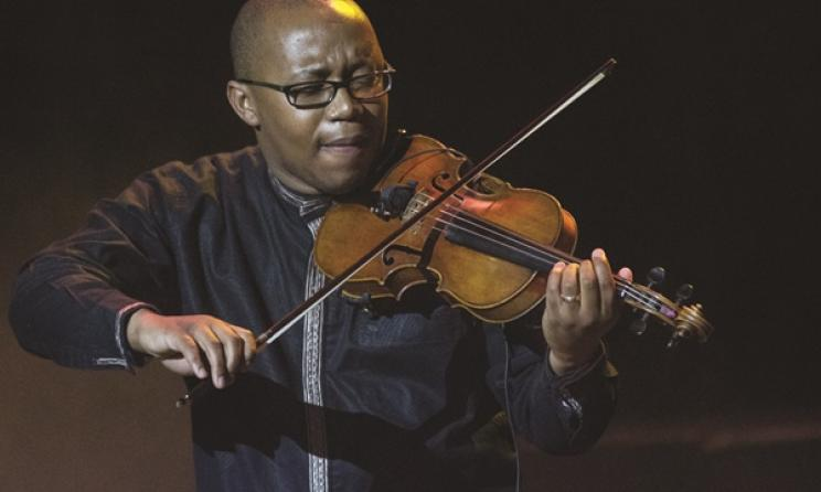 The Odeion String Quartet's Samson Diamon. Photo: Kate Janse van Rensburg / CuePix / cue.ru.ac.za