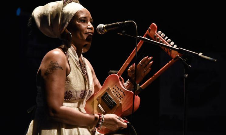 Swiss based Eritrean Singer Dahab Faytinga. Photo: www.lacote.ch