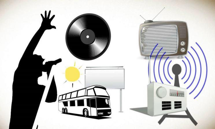 Music distribution channels. Photo: www.youtube.com