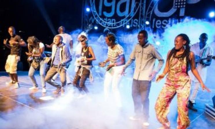 Les fans apprécient la musique au dernière édition du Festival KigaliUp.Photo par Kimberly Ross Photographie