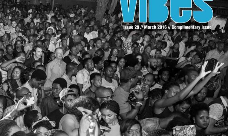 Afropolitan Vibes magazine cover