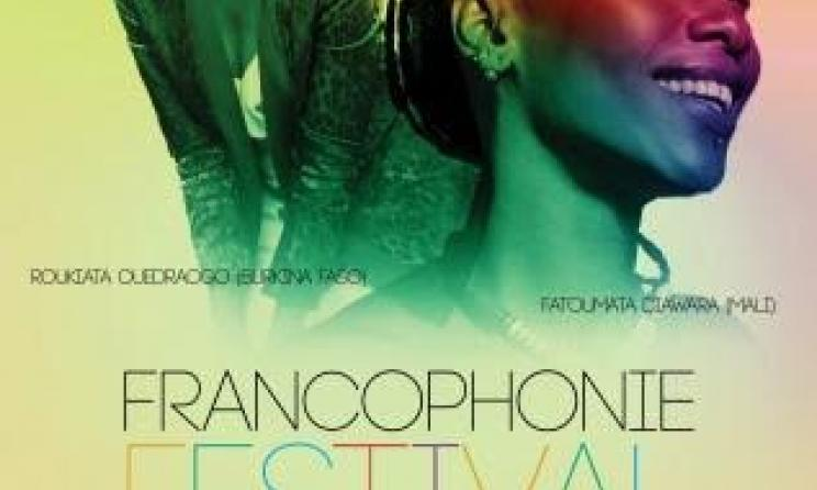 Poster for the Francophonie festival