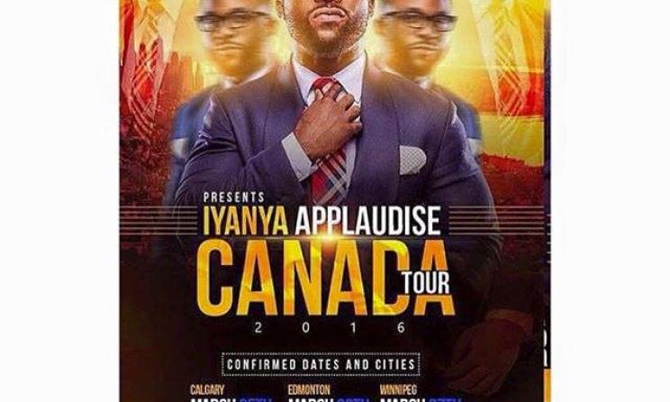 Iyanya Canada tour poster