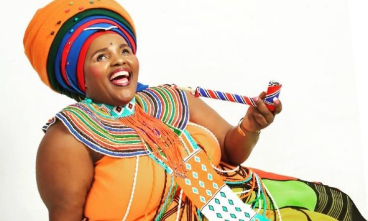 South African praise singer Jessica Mbangeni. Photo: Facebook