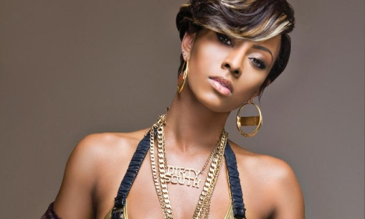 US singer Keri Hilson will best this year's Airtel Trace Music Star. Photo: Interscope Records / mtv.com