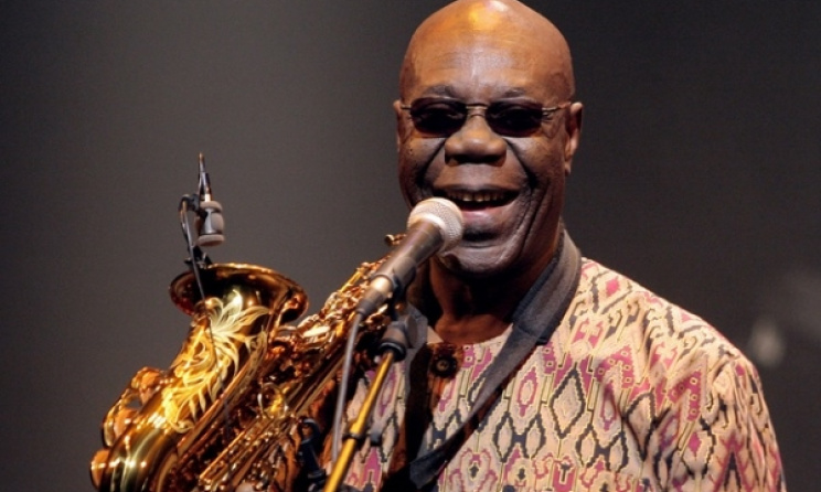 Manu Dibango will perform at MASA in Abidjan. Photo: www.masa.ci