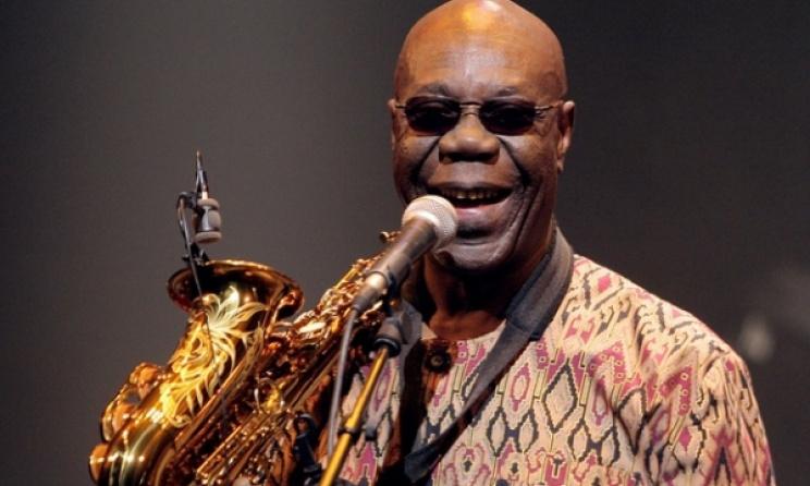 Manu Dibango will perform at MASA in Abidjan. Photo: www.masa.ci