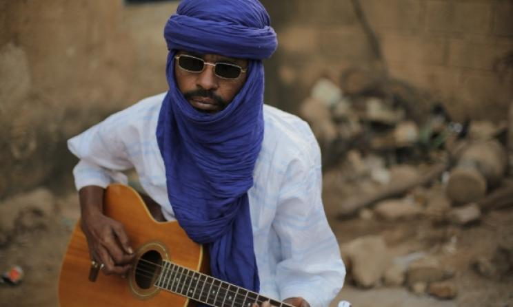 Guitarist Moussa Sidi features in the documentary 'They Will Have to Kill Us First'. Photo: www.theywillhavetokillusfirst.com
