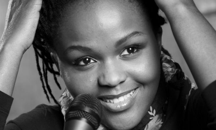 South African singer Nomfundo Xaluva.