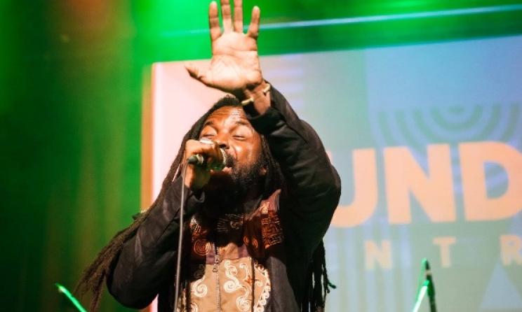 Ghana's Rocky Dawuni at Mundial Montreal in 2015. Photo: Facebook