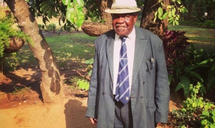 Malawian musician and educator Wenham Chechamba. Photo: Ilan Moss.