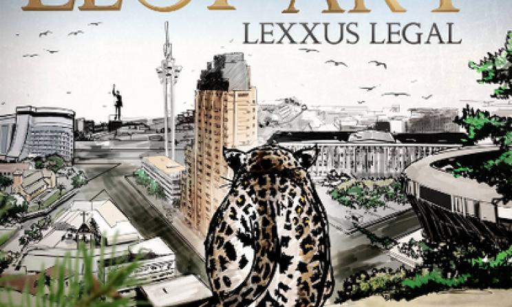 "Cover de l'album ""Leop'Art"" de Lexxus Legal."