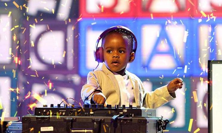 The 2015 winner of SA's Got Talent, DJ Arch Jnr in action. Photo: etv.co.za