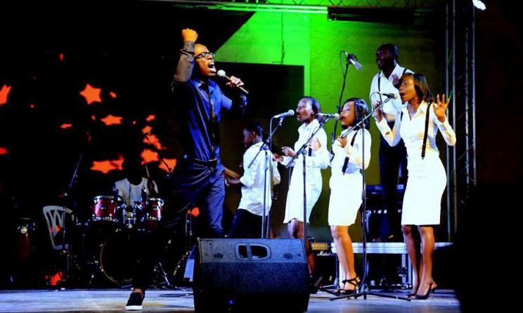 Gospel Light sur scène. Photo: theguypictures7pro@