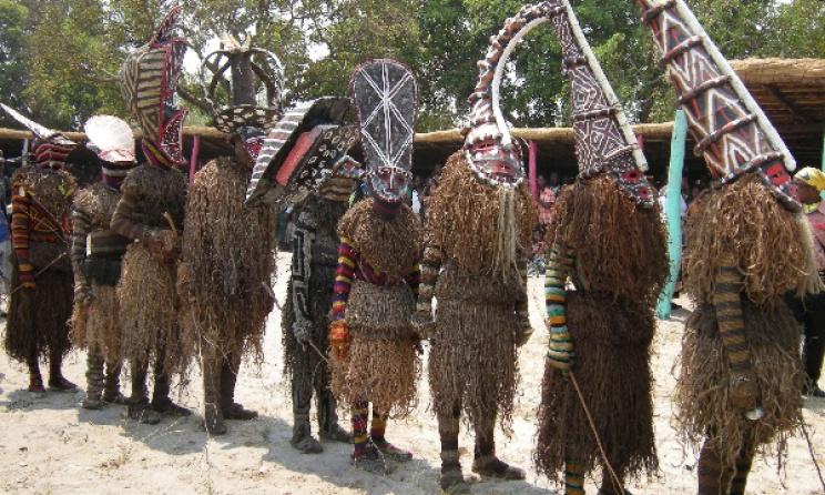 Zambia's Likumbi Lya Mize ceremony.
