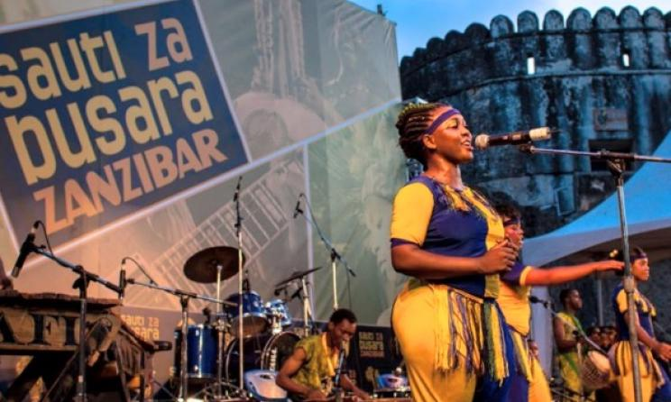 A scene from Sauti za Busara at Zanzibar's historic Old Fort. Photo: SzB/Facebook