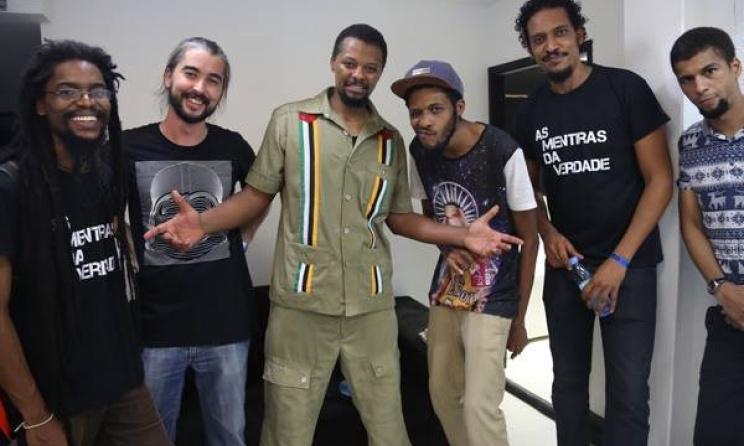 Mozambican outfit Azagaia & Os Cortadores de Lenha will perform at Azgo this year.