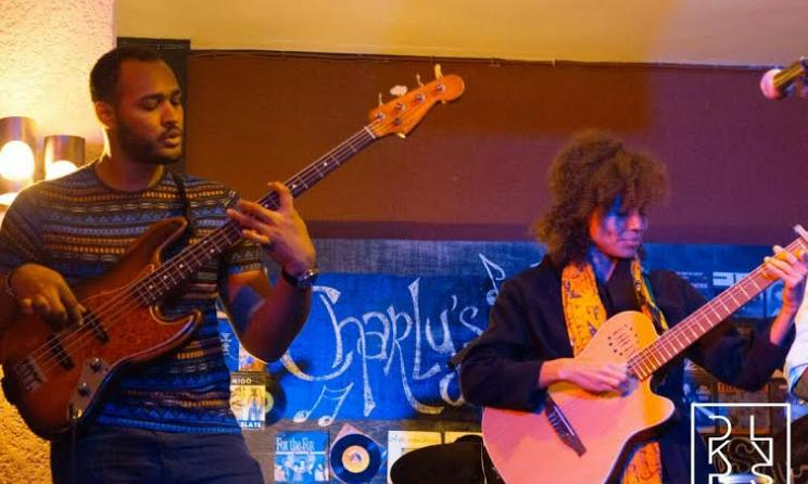 Nneka en live au Charly's - Photo Dakarlives