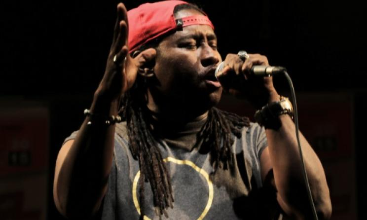 Senegalese star Didier Awadi will perform in Berlin. Photo: Music In Africa / David Durbach