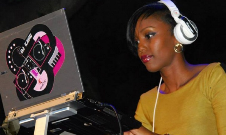DJ Karo, one of the few female DJs in Uganda. Photo: www.bigeye.ug