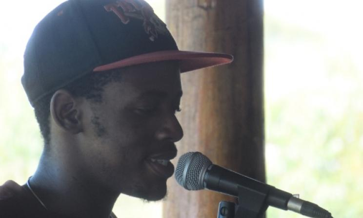 Swazi poet Fish will headline the Mbab'City Open Mic session. Photo: supplied