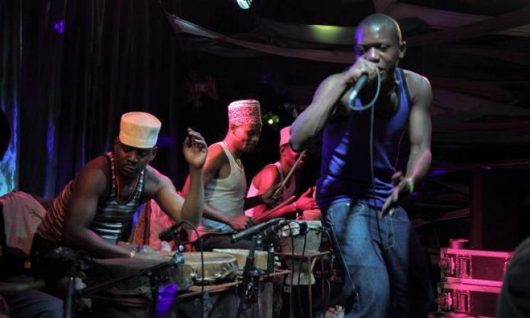 Tanzanian band Jagwa Music are set to tour the USA. Photo by Werner Graebner / centerstageus.org