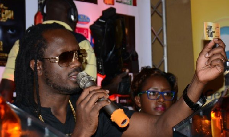 Bebe Cool speaks at the concert launch. photo: www.trending.co.ug