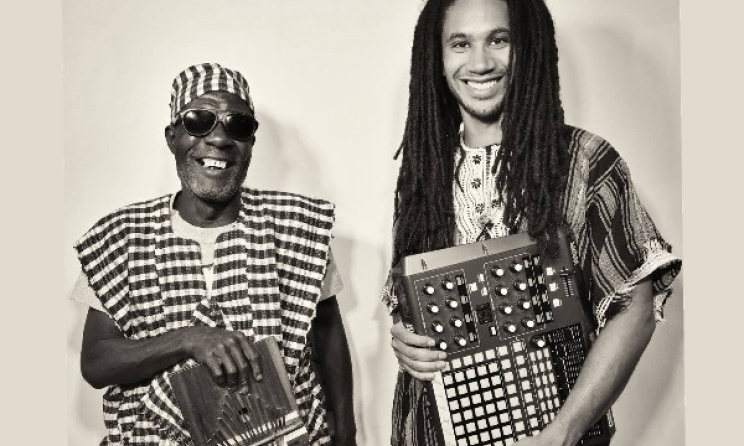 Kondi Band's Sorie Kondi and Chief Boima are heading to WOMEX in Spain. Photo: Facebook