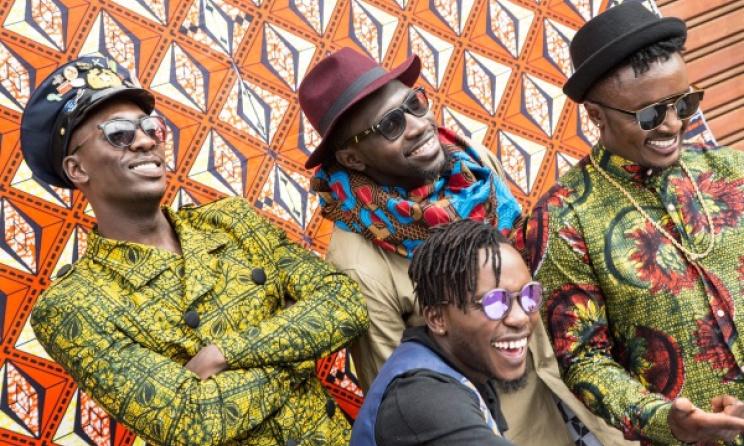 Kenyan Afro-pop group Sauti Sol. Photo: Sauti Sol Twitter Page