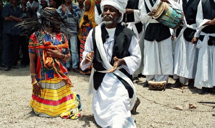 Eritrean dancers from the Tigre ethnic group. Photo: www.explore-eritrea.com