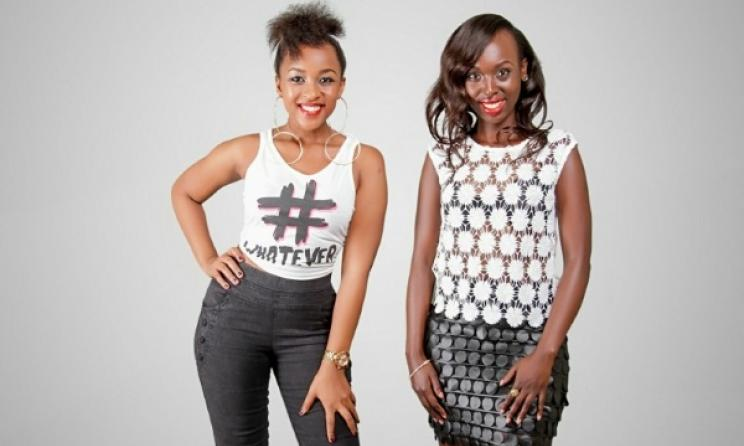 Rwandan pop artists Charly and Nina. Photo:www.inyarwanda.com