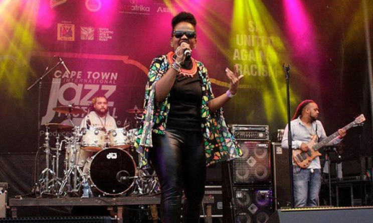 Lana Crowster, winner the first espYoungLegends contest, performing at the CTIJF. Photo: Facebook