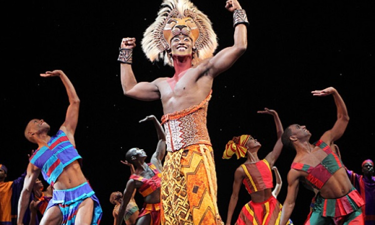 A scene from an earlier production of 'The Lion King'. Photo: neworleans.broadway.com