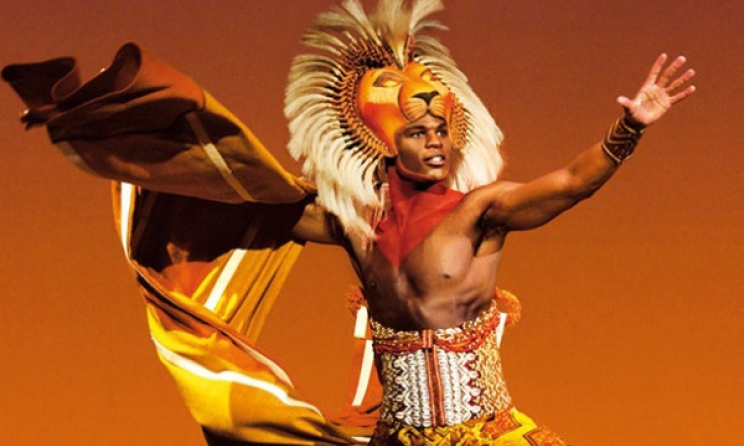 A scene from the stage production of 'The Lion King'. Photo: www.newyorkcitytheatre.com