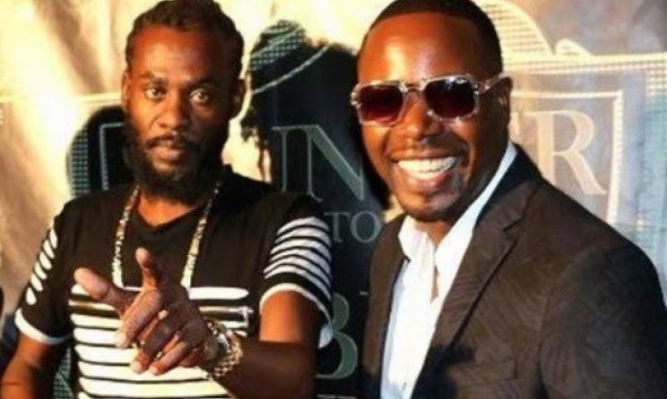 Jamaica's Sir Ford and Zim's Stunner at the 'If I Die Tonight' album launch. Photo: www.zimbojam.com