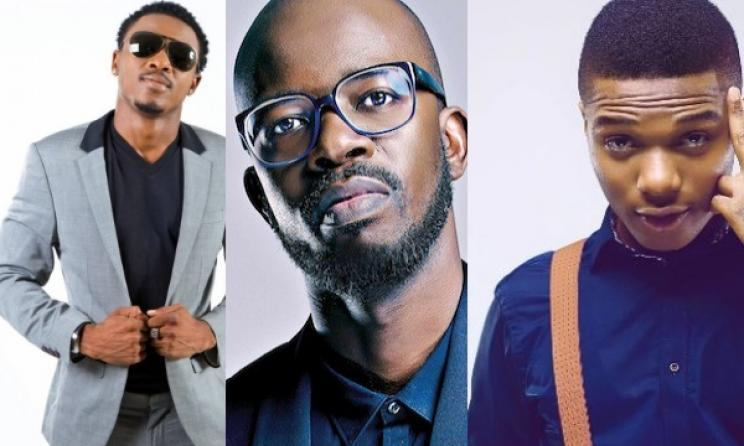 Ali Kiba, Black Coffee and Wizkid.