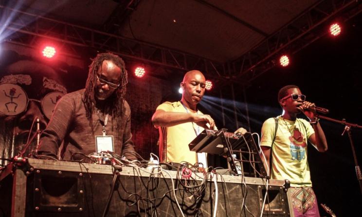 Artists at a past Nyege Nyege event. Photo: www.kenyavibe.com
