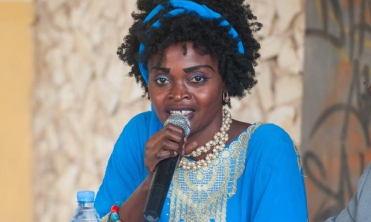 Rokhaya Daba Sarr directrice d'Africa Fête (Photo) : Guillaume Bassinet