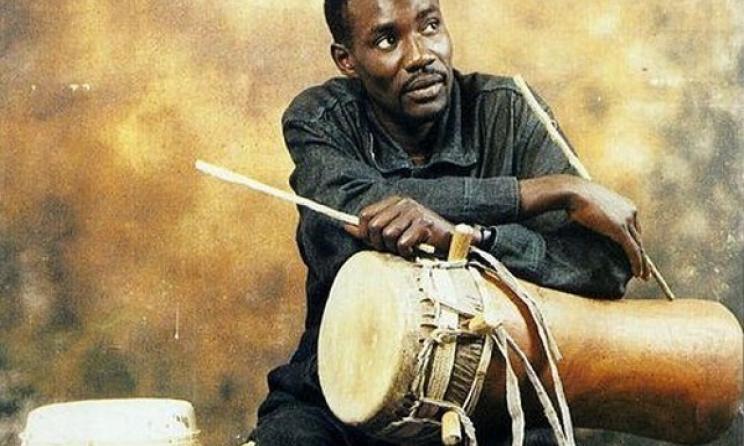 Thio Mbaye (Photo) : jacquette album Rimbax
