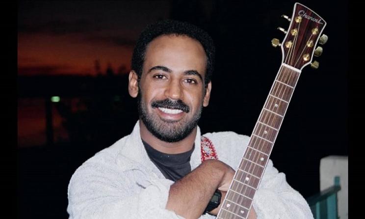 Eritrean artist Abraham Afeweki.