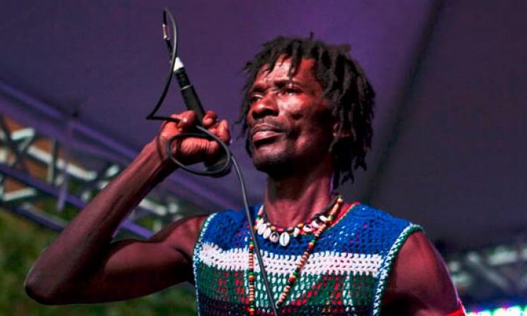 Janka Nabay has helped modernise bubu music. Photo: Multiflora Productions