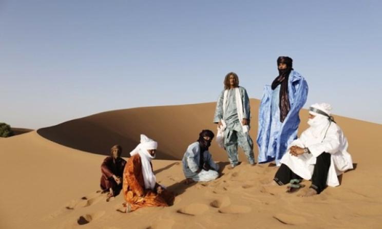 Le groupe Tinariwen. (Photo) : wanderlust.co.uk