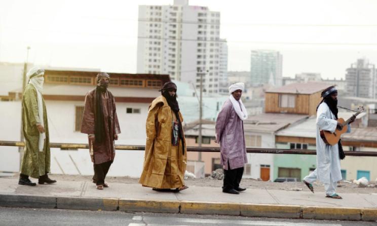 Malian band Tinariwen.  Photo: Marie Planeille