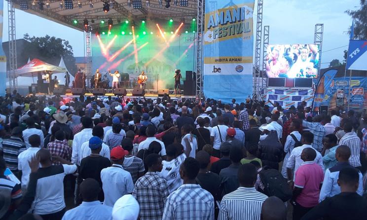 Photo: festival Amani.
