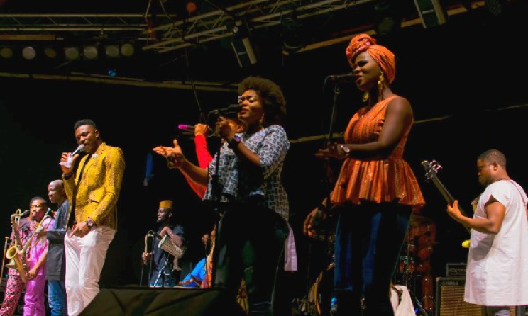 Bantu Band members performing at an Afropolitan Vibes concert. Photo: Dohdohndawa