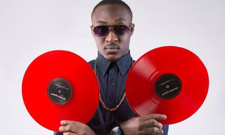 DJ Vyrusky is up for a few awards at the 2017 Rush Ghana Dj Awards. Photo: Ben Anang