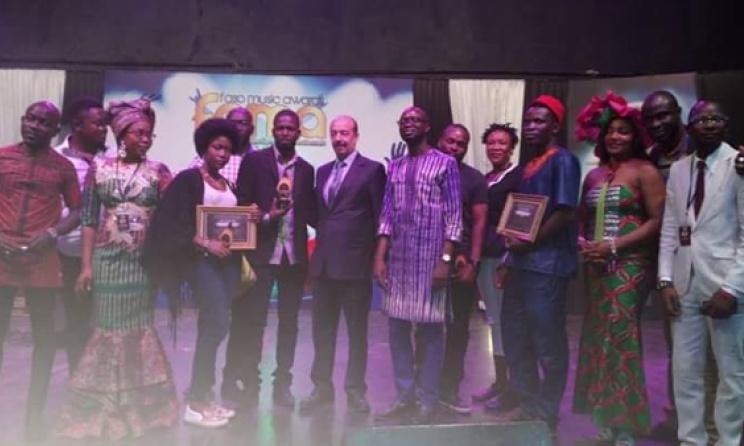 Photo de famille du Faso Music Awards 2017
